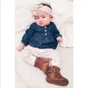 Ralph Lauren Shoes - Ralph Lauren Layette Papoose Boots